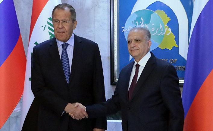 Визит министра иностранных дел РФ С. Лаврова в Ирак