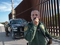Пограничный патруль в Пенитасе, штат Техас