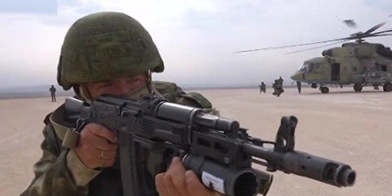 Российские военные заняли американскую авиабазу в Сирии