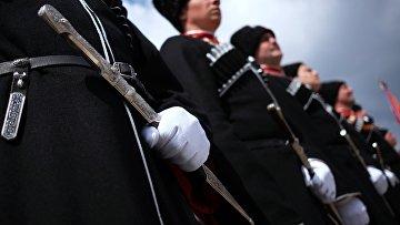Парад Кубанского казачьего войска