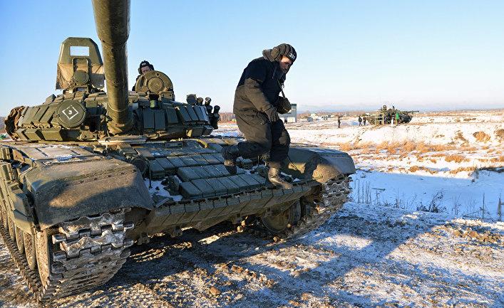 Танк Т-80 в танковой дивизии