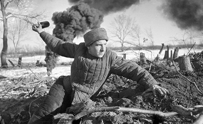 Великая Отечественная война 1941-45 гг. Сталинградская битва