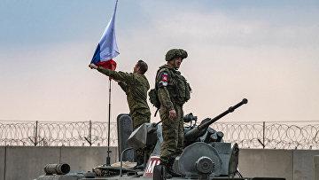 Российские военные в сирийской провинции Хасаке