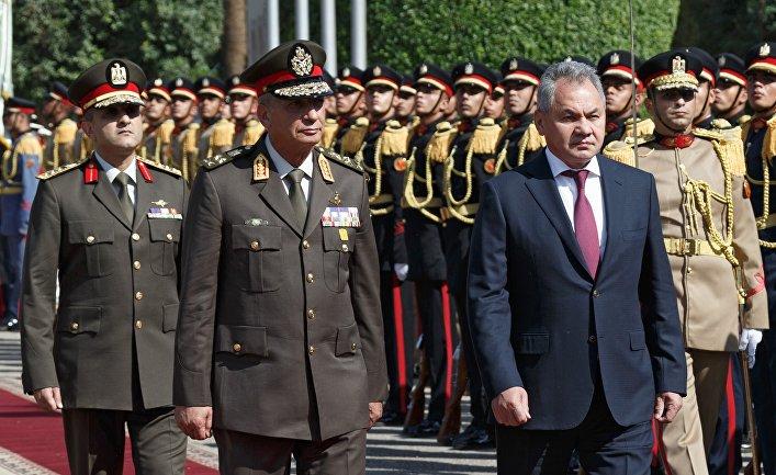 Визит министра обороны РФ С. Шойгу в Каир