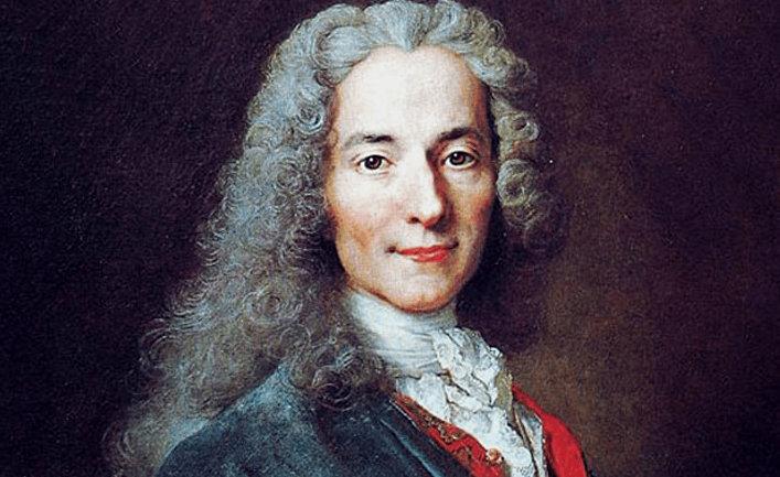 Французский философ Вольтер