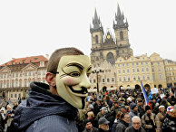Акции протеста в Праге, Чехия