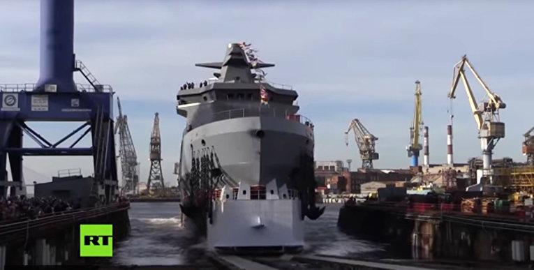 Боевой ледокол на страже российский интересов в Арктике
