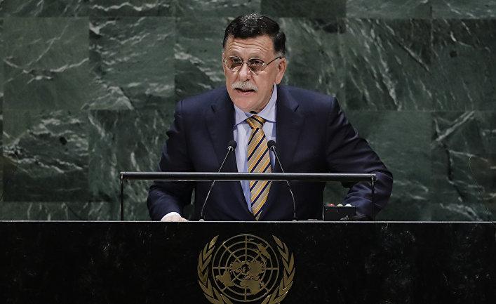 Премьер-министр Ливии Фаиз Мустафа ас-Сарадж