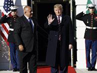 Президент США Дональд Трамп и премьер-министр Болгарии Бойко Борисов во время встречи в Белом доме в Вашингтоне