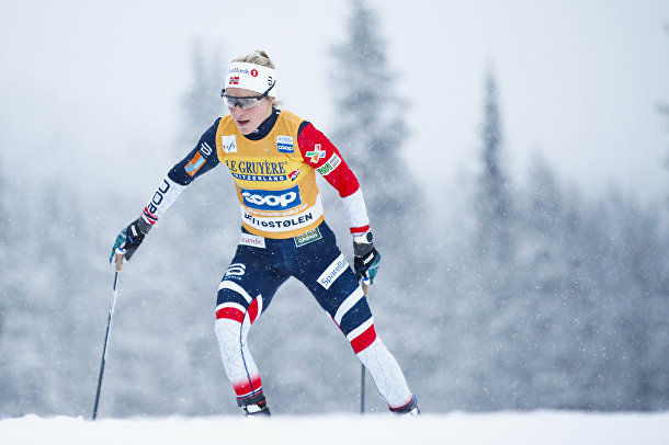 Норвежская лыжница Тереза Йохауг