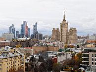 """Московский международный деловой центр """"Москва-Сити"""" в Москве"""