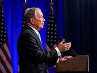 Кандидат в президенты США от Демократической партии Майкл Блумберг
