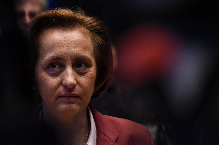 Вице-председатель ультраправой «Альтернативы для Германии» Беатрикс фон Шторх