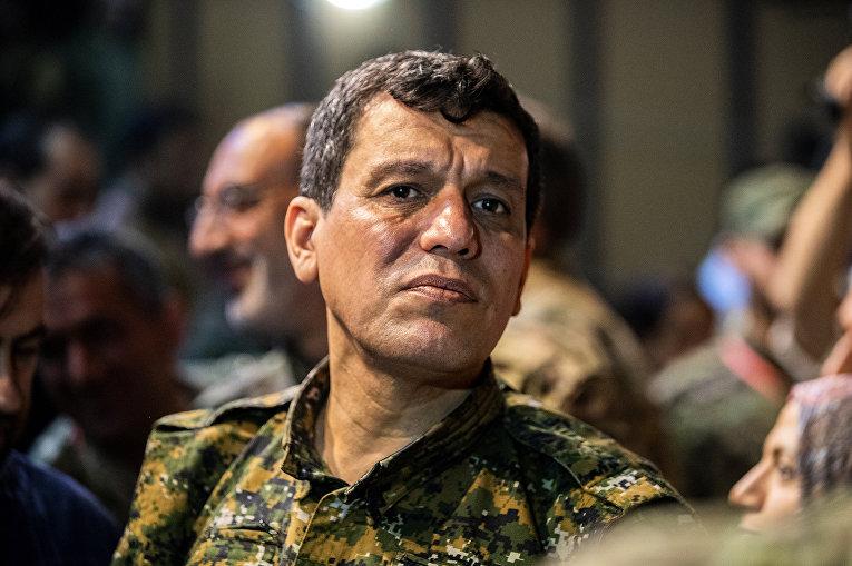 Курдкий лидер Мазлум Абди