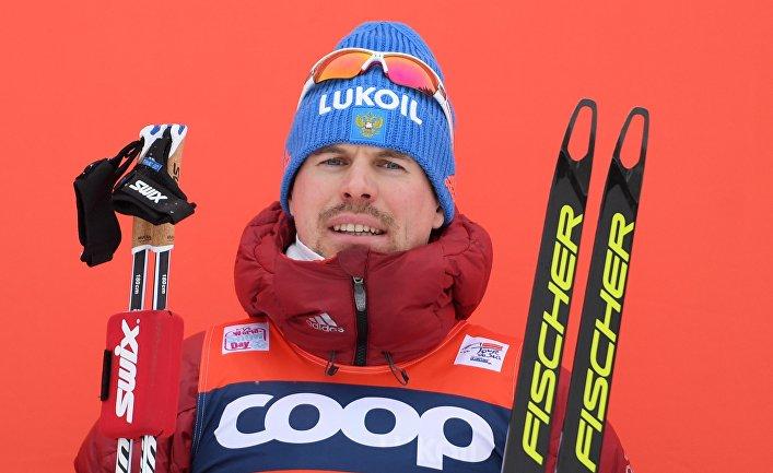 Сергей Устюгов на Тур де Ски
