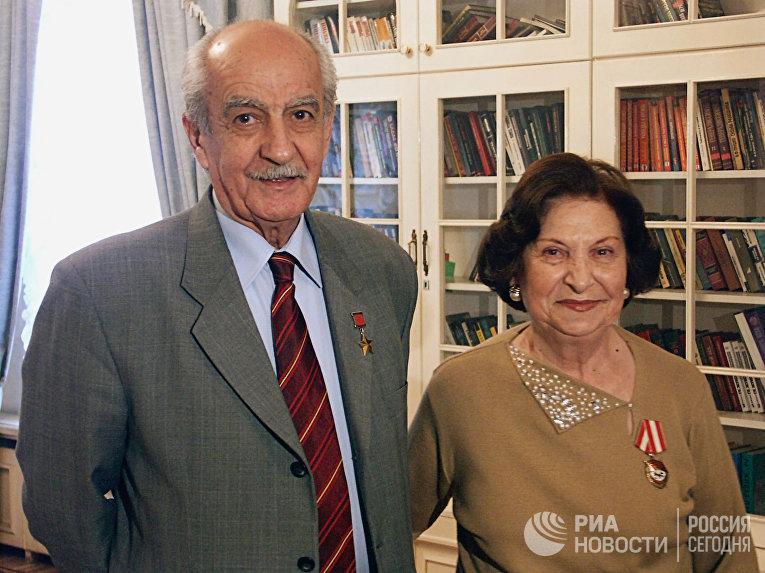 Ветераны советской разведки Геворк и Гоар Вартанян