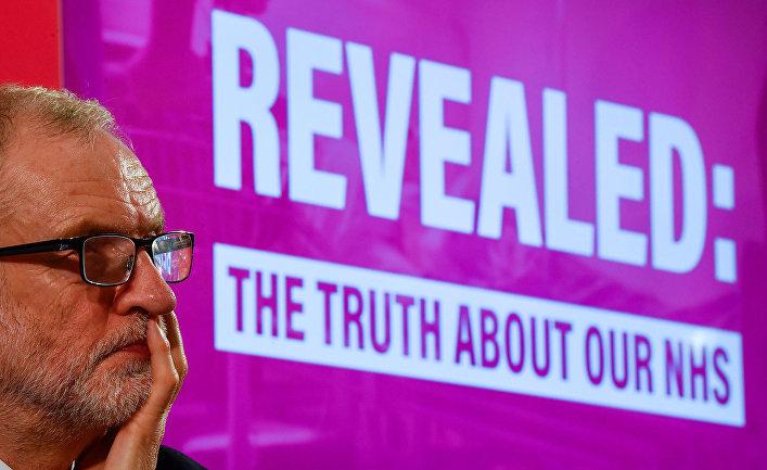 Лидер британской Лейбористской партии Джереми Корбин