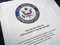 В палате представителей США утвердили доклад по импичменту Трампа