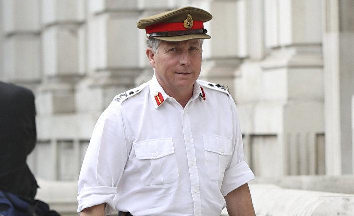 Британский генерал Ник Картер