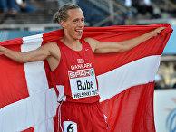 Датский легкоатлет Андреас Бубе