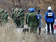 Разведение сил в Донбассе