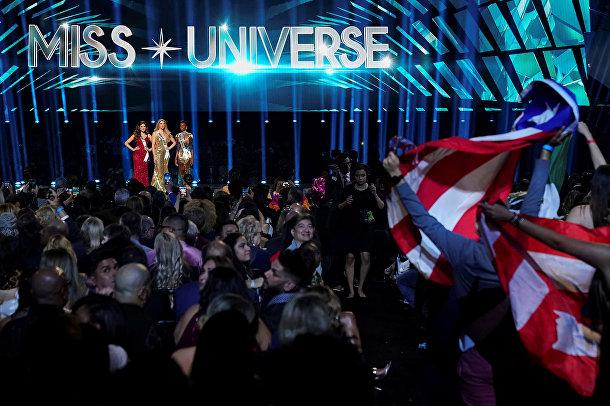 Финалистки конкурса «Мисс Вселенная»— 2019