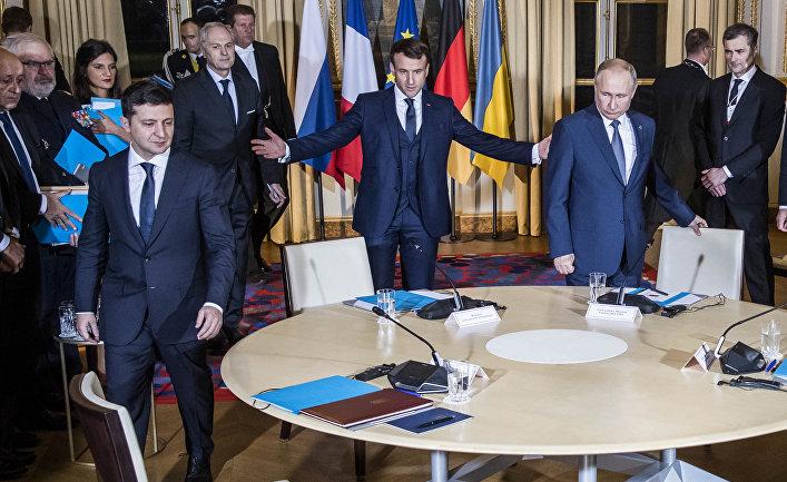 9 декабря 2019. Переговоры нормандской четверки в Париже