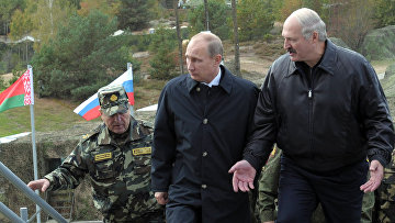 Рабочая поездка В.Путина в Белоруссию