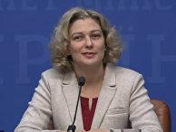 Пресс-конференция Татьяны Монаховой