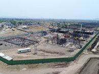 Строящийся город Амаравати в Индии