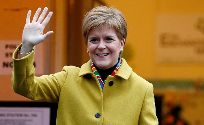 Лидер Шотландской национальной партии Никола Стерджен