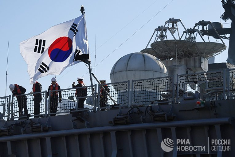 Боевые корабли Республики Корея прибыли во Владивосток с деловым визитом