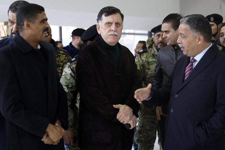 Премьер-министр Ливии Файез Аль-Саррадж