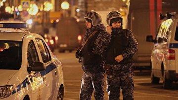 В центре Москвы произошла  стрельба