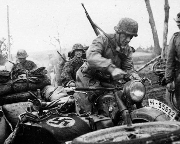 Солдаты Ваффен-СС в России, 1941 год