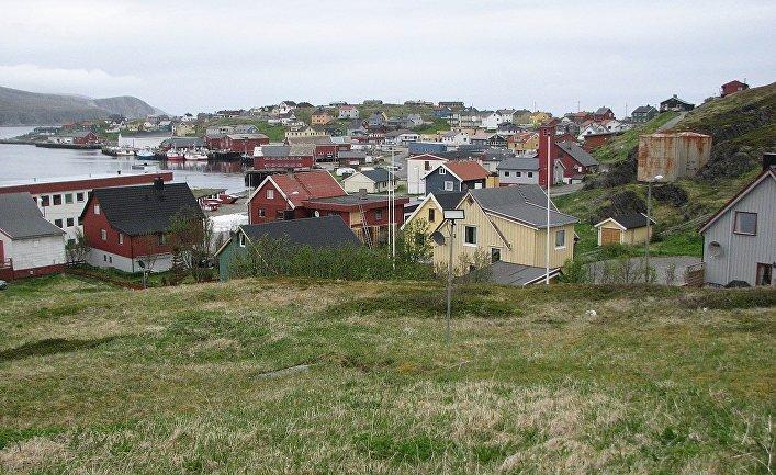 Деревня Мехамн, Финнмарк