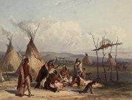 Похороны вождя сиу