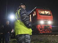 Первый пассажирский поезд Санкт-Петербург - Крым