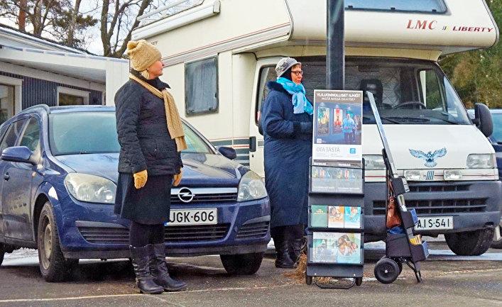 Свидетели Иеговы (запрещенная в России организация) в Туури, Финляндия