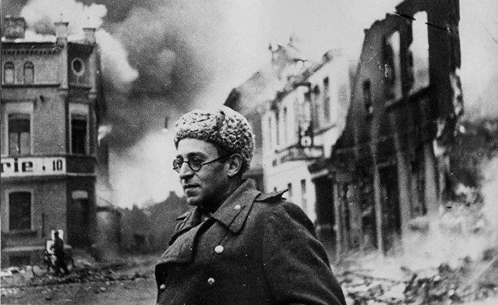 Русский писатель Василий Гроссман в 1945 году
