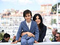 Сирийский актер Заин Аль-Рафеа и ливанский режиссер Надин Лабаки