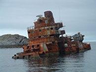 Крейсер Мурманск у берегов Норвегии