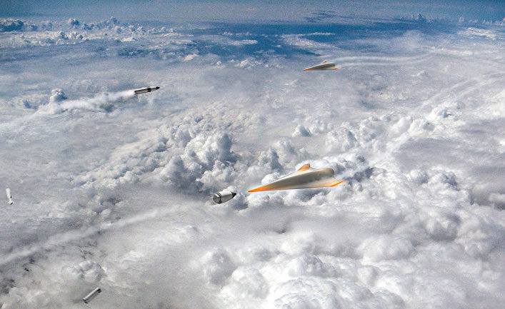 Пулеобразные ракеты защищают США от гиперзвукового оружия
