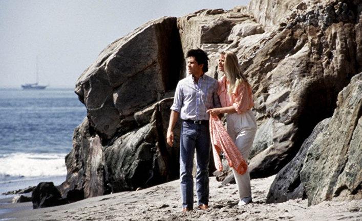 Кадр из сериала «Санта-Барбара»