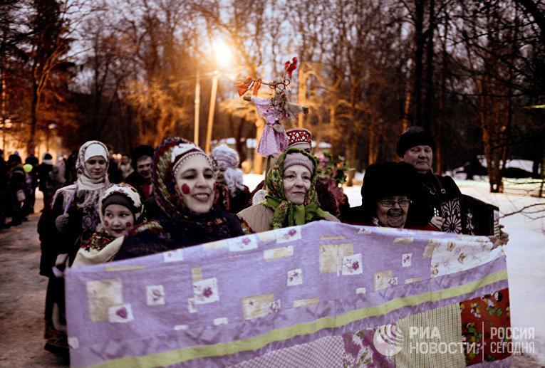 """Праздник """"Васильев вечер"""" в Великом Новгороде"""
