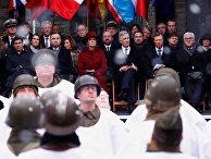 Торжественная церемония по случаю 75-летия Арденнского наступления