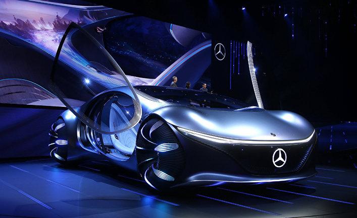 Презентация концепт-кара Mercedes-Benz Vision AVTR