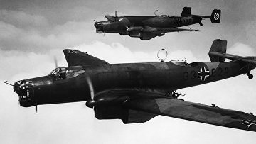 Немецкие бомбардировщики, 1938 год