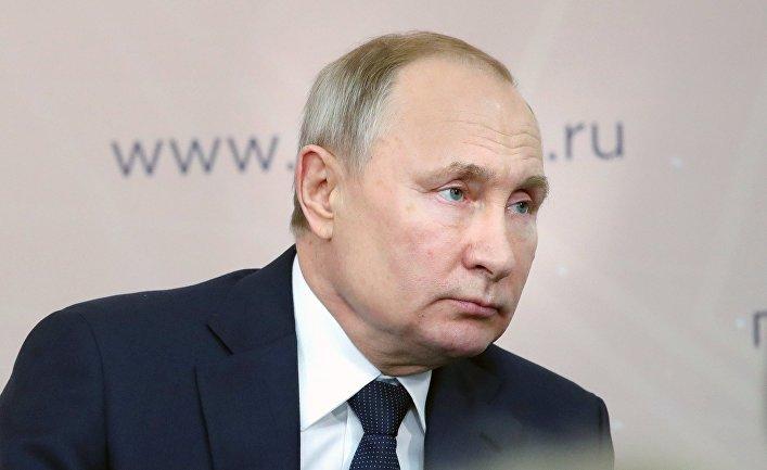 Рабочая поездка президента РФ В. Путина в Центральный федеральный округ