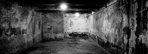 Помещение газовой камеры в Освенциме, Польша